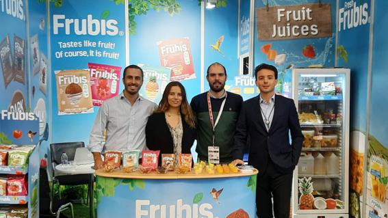 Frubis was present at the Anuga Fair in Cologne